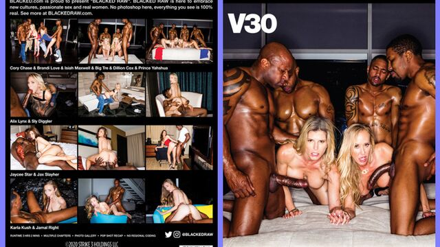 Blacked Raw V30 (2020) Full Porn Movie