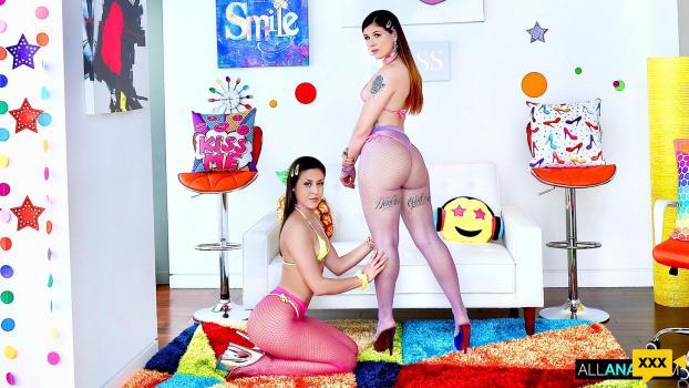 All Anal - Isabel Moon & Catalina Ossa