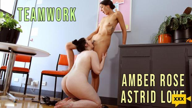 Girls Out West - Amber Rose & Astrid Love