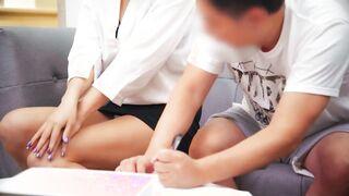 麻豆導演之家庭訪問的性感老師