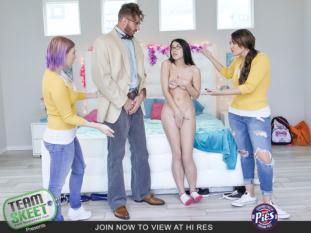 Teen Pies – Alex Coal A Professorial Creampie